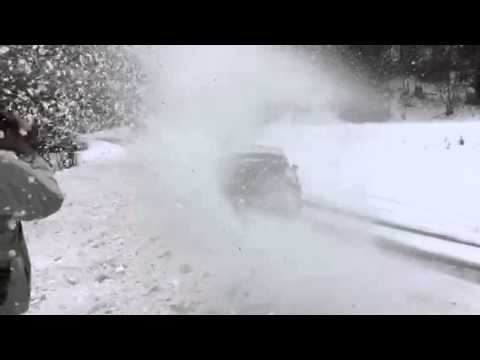 Test Latvala Rallye Monte Carlo 2015 VW Polo WRC Slow Motion HD