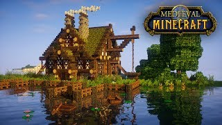 Minecraft Tutorial: How to build a BIG survival house ( Medieval Mansion ) casa, дом