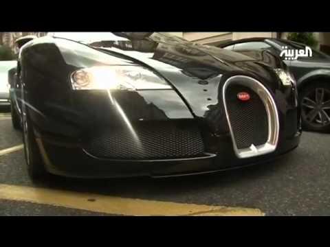 سيارات الخليجيين تجذب الإنتباه في عاصمة الضباب لندن