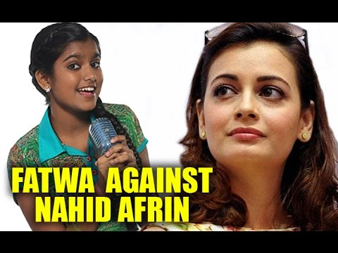 Video Fatwa Against Indian Idol Fame Nahid Afrin: Dia Mirza Supports The Young Singer download in MP3, 3GP, MP4, WEBM, AVI, FLV January 2017