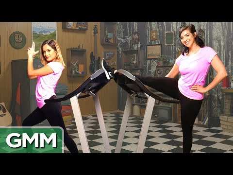 11 • E96___  _    Treadmill Dance Challenge ft