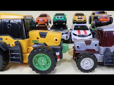 또봇 14대 변신 기가세븐 14 Tobot transformation robot car toys