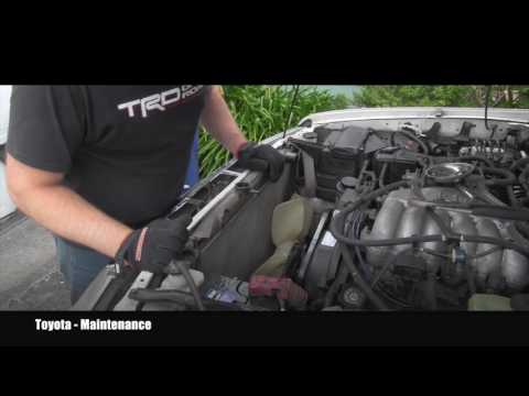 Toyota 4Runner How To Replace Radiator