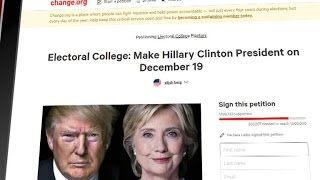 A petition is circulating with the hopes of making Hillary Clinton the president because she won the popular vote, despite losing ...