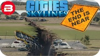 Cities Skylines Gameplay: 8.1 SCALE CITY SHAKES!! (Cities: Skylines Natural Disasters Scenario) #8