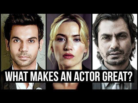 Anatomy of a Great Actor