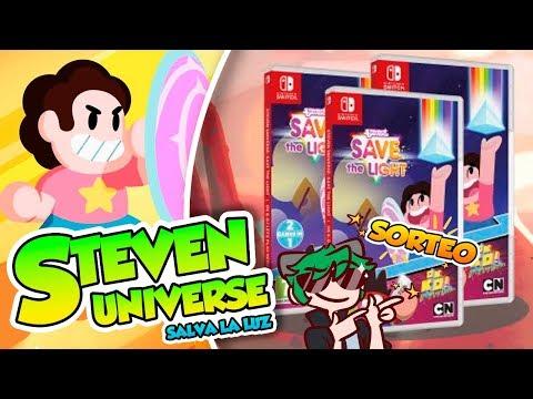 ¡Gana una copia fisica de Steven Universe: Salva la Luz (Switch) SORTEO
