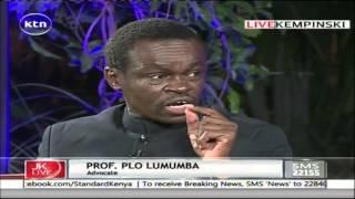 Jeff Koinange Live with PLO Lumumba and Barrack Muluka 10/2/2016 part 1