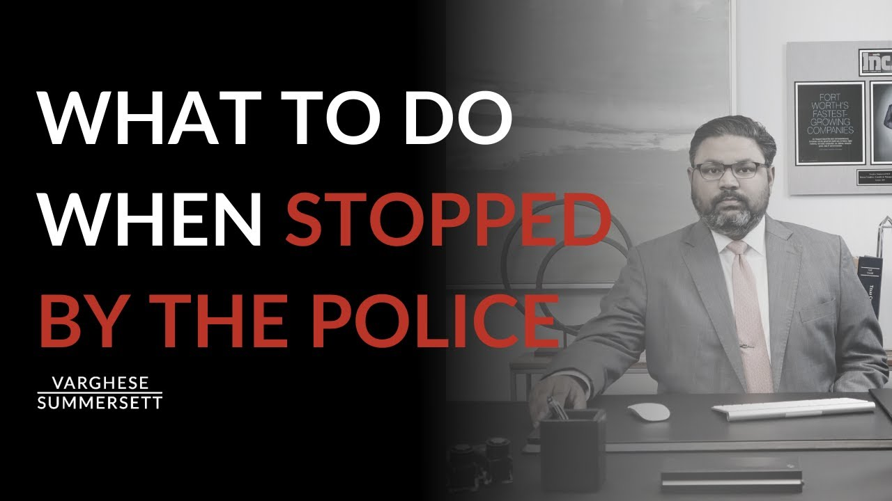 Video: What to Do When Stopped by Police