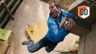 Matt Jumps Off A Building To Test The Psychi Bouldering Pad | Climbing Daily Ep.1116 by EpicTV Climbing Daily
