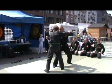 Demo #2 Tienen Sport 2011 – Genbukan Chiryaku Dojo Belgium vzw – Ninpo/Jujutsu