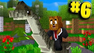 The Cutest Tame Dino You Can Ride On - Minecraft Jurassicraft Dinos Modpack Episode #6 | JeromeASF