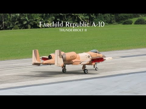 Fairchild Republic A-10 Thunderbolt...