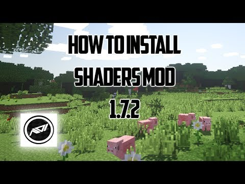Shaders Mod Minecraft 1.7.2/1.7.4 - Tutorial + Download (видео)