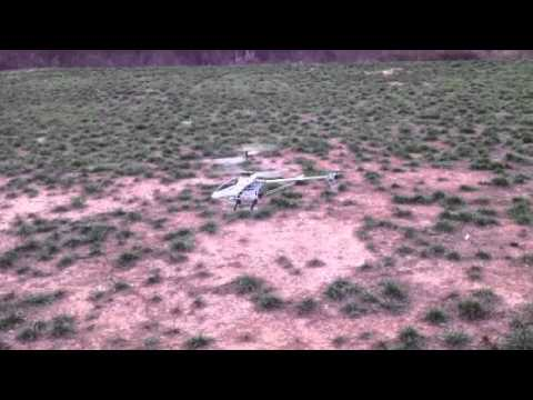 Test Flight of the New M1 Hurricane Coaxial R/C XX Large Heli (TH)