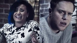 Olly Murs & Demi Lovato Emotional Music Video for 'Up'