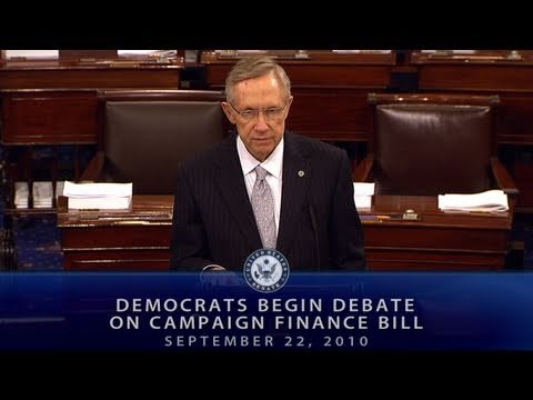 Democrats Begin Debate on Campaign Finance Bill