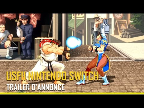 Street Fighter II sur Switch !