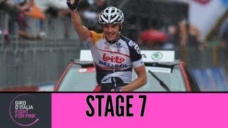 Giro D'Italia 2013 Tappa/Stage 7 Official Highlights