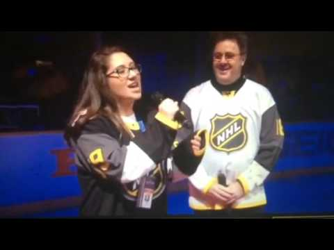 WATCH: Vince Gill & His Daughter Sing the National Anthem at NHL All-Star Game