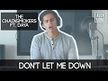 Don't Let Me Down by The Chainsmokers ft. Daya | Alex Aiono Cover