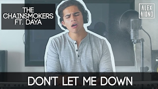 Don't Let Me Down by The Chainsmokers ft. Daya | Alex Aiono Cover - YouTube