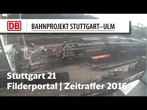 2016 | Filderportal - Tunnelbohrmaschine