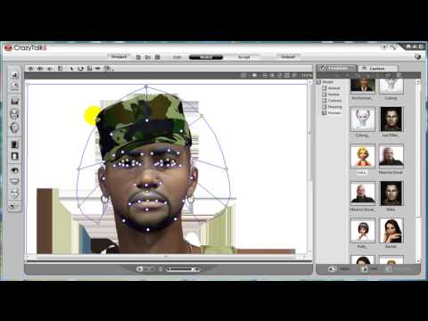 CrazyTalk6 Tutorial – Perfection of Face Fitting
