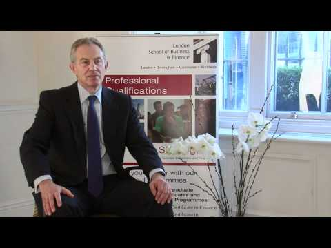 LSBF London Interviews Tony Blair: The Knowledge-Based Economy - LSBF