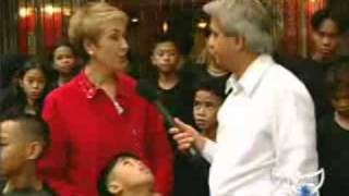 Benny Hinn In Streets Of Manila, Philippines (Feeding Thousands Of Children)
