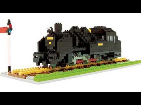 Video Nanoblock Steam Locomotive now on YouTube