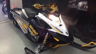 7. 2009 SKI DOO BRP MXZ RENEGADE X 800R MOTONEIGE, MG PERFORMANCE