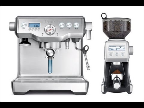 Breville Dual Boiler Espresso Maker & Smart Grinder Indepth Review – BES900XL, BCG800XL