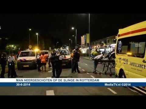 Man neergeschoten op de Slinge in Rotterdam