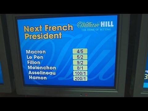 Γαλλικές εκλογές: «Φωτιά» έχουν πάρει τα γραφεία στοιχημάτων στη Βρετανία