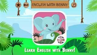 English for kids with Benny YouTube video