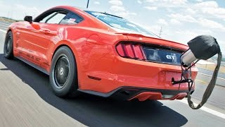 TWIN TURBO Chick DOMINATES in 8-Second MUSTANG! by 1320Video