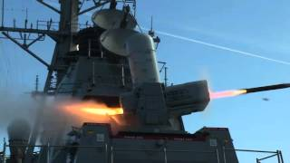 Porter (IN) United States  city photo : USS Porter Conducts SeaRAM Test Fire