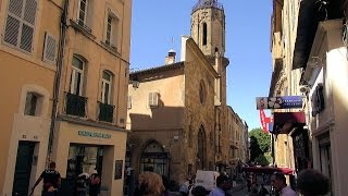 Aix-en-Provence France  city photos : Aix-en-Provence Sightseeing Tour, Provence-Alpes-Côte d'Azur, France [HD] (videoturysta)