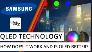 What is QLED and how does it compare to OLED?