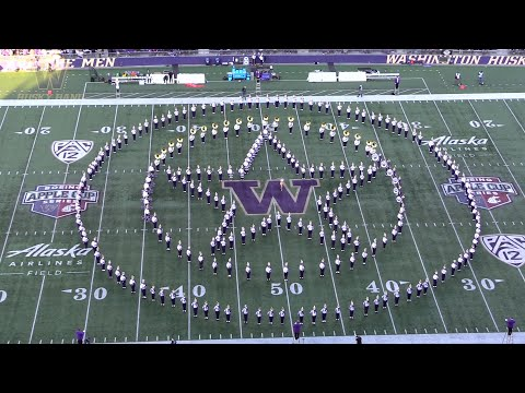 Husky Marching Band | Washington vs. WSU | Halftime - Music of Marvel (11.29.19)