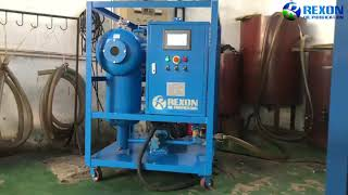 Upgrade Type Automatic Turbine Oil Purifier Machine Oil Filtration System youtube video