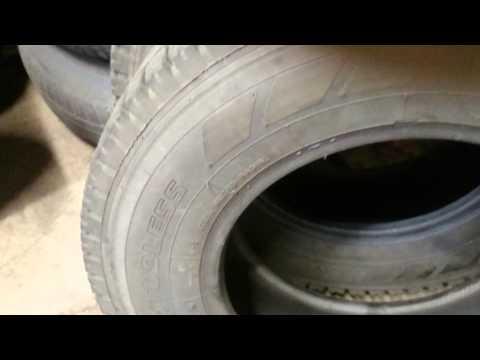 2 × Yokohama SY01 m+s tyre 195/80 R15 #18