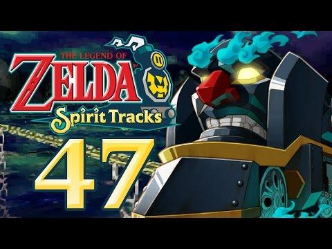 Let's Play The Legend of Zelda Spirit Tracks Part 47: Gegen den Dämonenzug & Marardo-Zelda видео