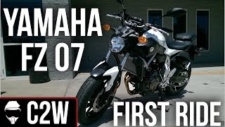 1. Yamaha FZ07 - First Ride and Review