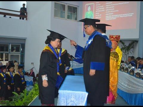 Dok. Humas Untad, Pelantikan Wisuda ke – 84  Lulusan Universitas Tadulako DISK 2,  Palu 29 September 2016