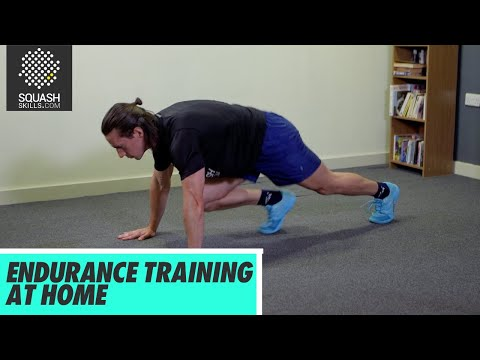 Squash Tips: Endurance Training At Home With Gary Nisbet
