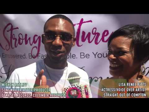 @KellieBrew Interviews Vivica Fox, Mishon Ratliff, & Lisa Renee Pitts