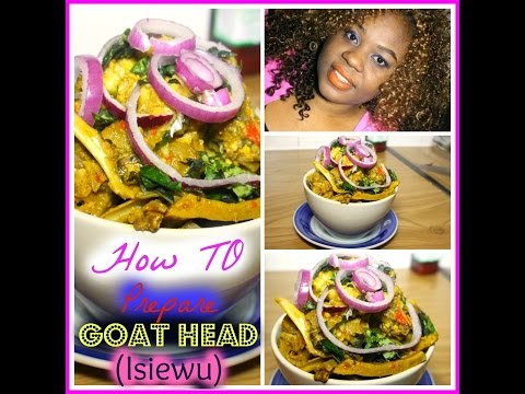 ISI EWU (Goat Head) RECIPE