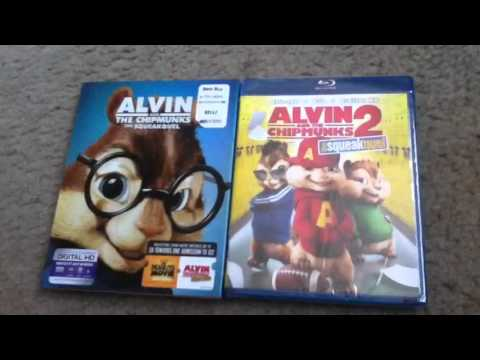 Alvin And The Chipmunks 2: The Squeakquel Blu-Ray Unboxing